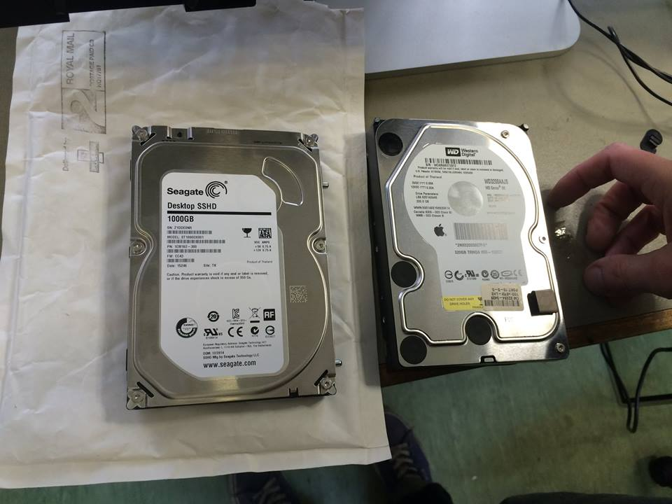 how to install seagate hard drive on mac