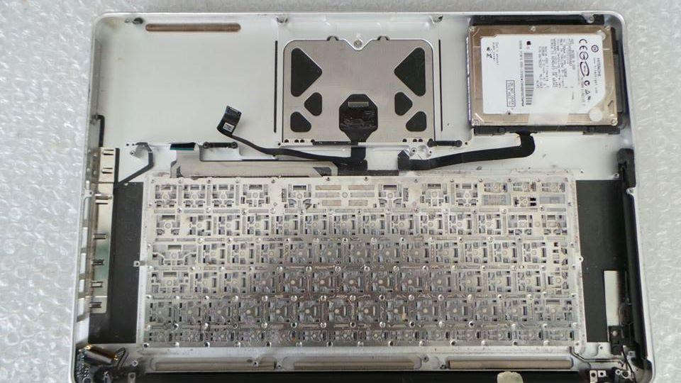 London MacBook Pro (15-inch, Unibody) Liquid Damage Repair