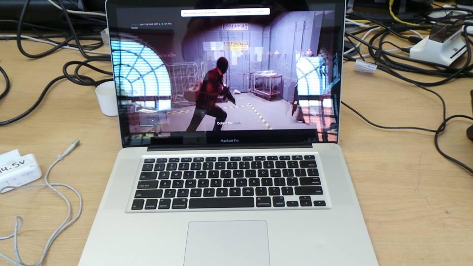 London MacBook Pro A1286 Repair
