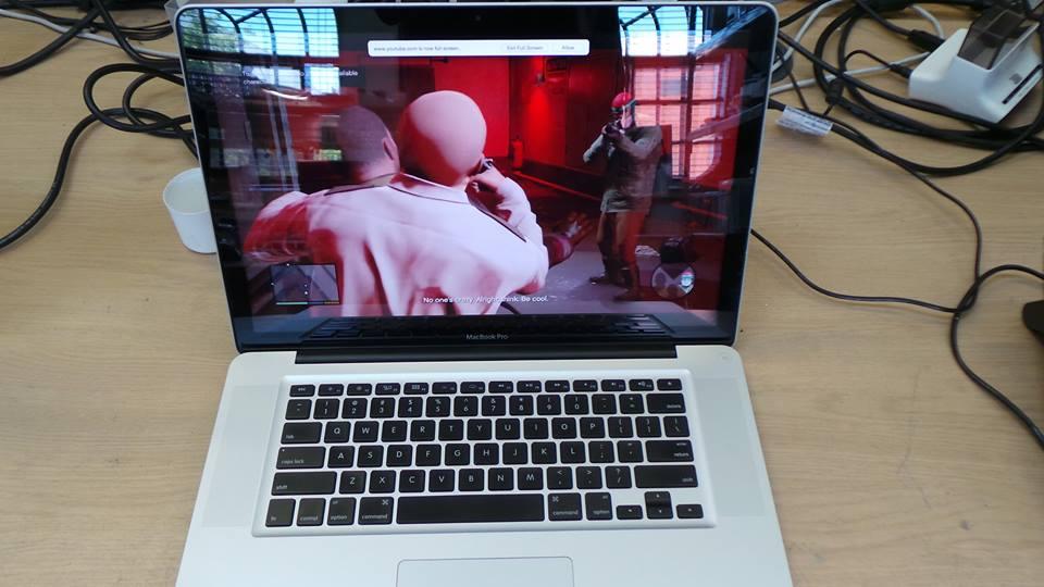 MacBook Pro A1286 Video Card Repair