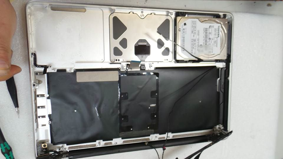 MacBook Pro (15-inch, Mid 2012) A1286 MD104LL/A Liquid Damage Repair