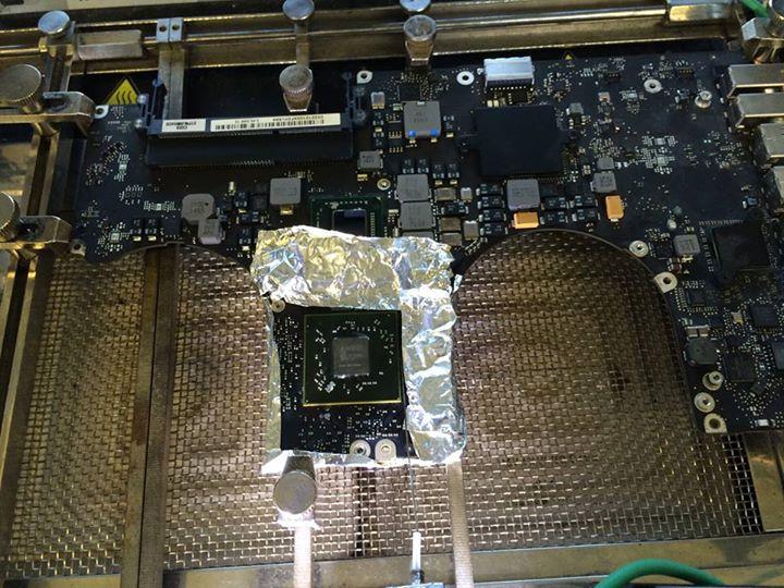 MacBook Pro A1297 Graphics Card Repair