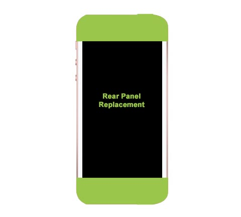 iPhone 5s Rear Glass Panel Replacement
